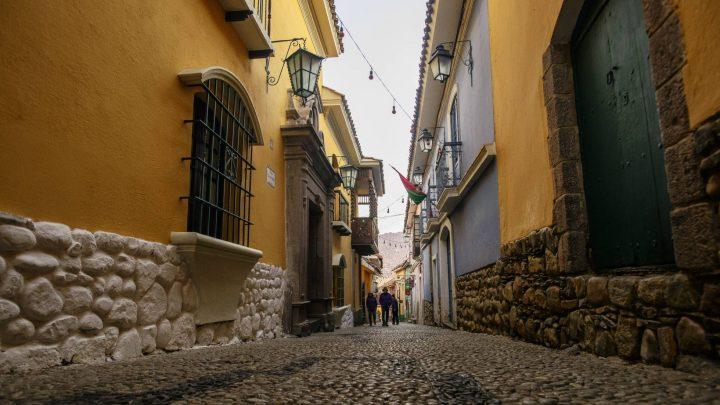 Calles para el asombro en La Paz
