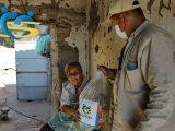 Familias mexicanas reciben despensas de la Fundación Sonigas